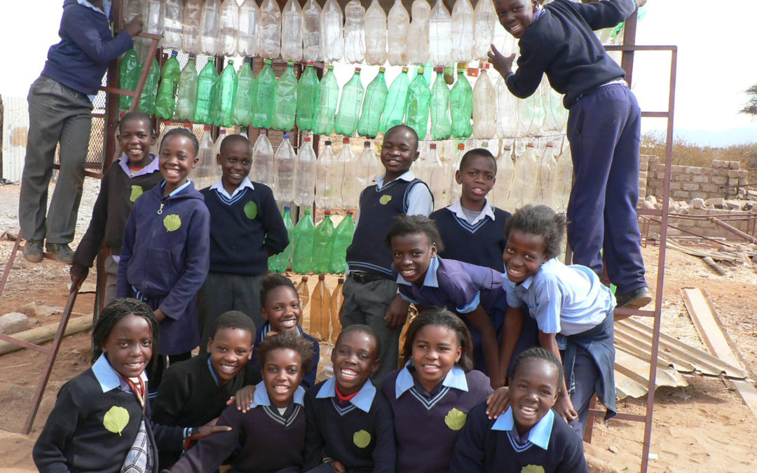 Re-use it or lose it: Botswana teachers convert rubbish into learning tools