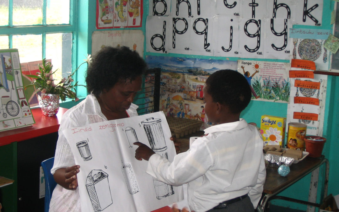 Turning dump material into useful audio visual aids for Primary School Education in Masvingo