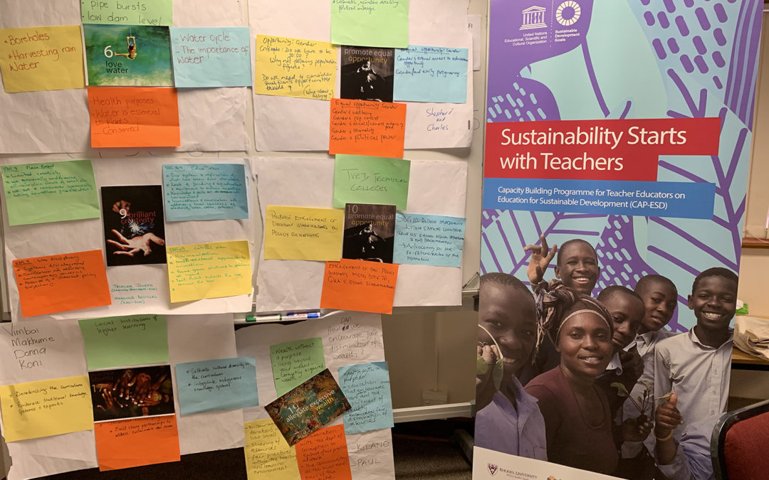 Lesotho gears up for Sustainability Starts with Teachers workshop