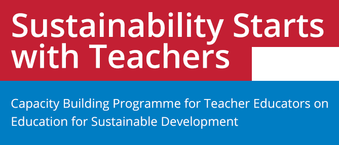 Sustainability Starts  with Teachers