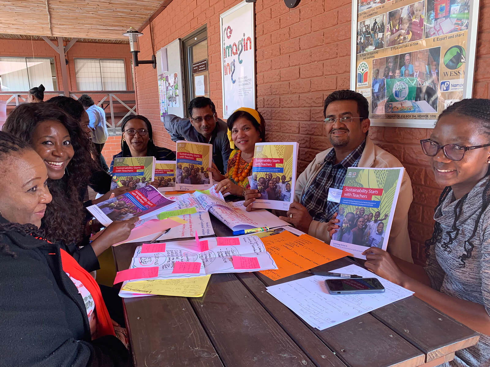 Teacher Trainers from Namibia